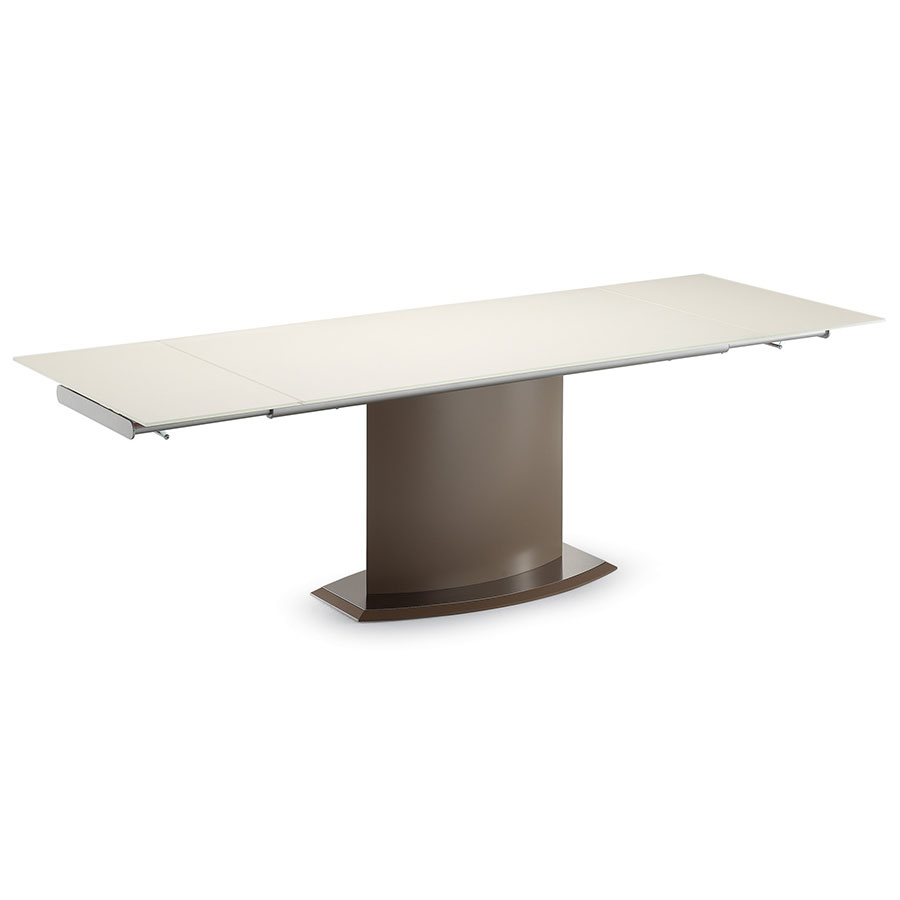 Danae Taupe Modern Extension Table