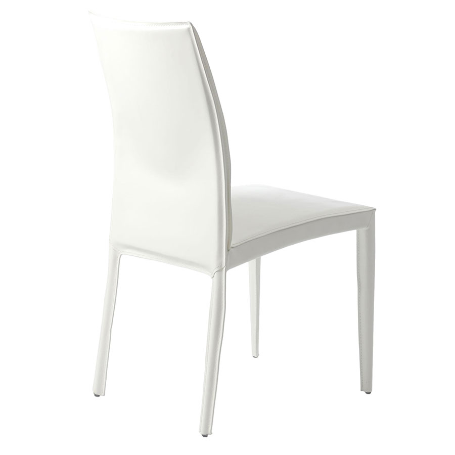 Modern Dining Chairs Darwin White Dining Chair Eurway : darwin dining chair white back from www.eurway.com size 900 x 900 jpeg 24kB