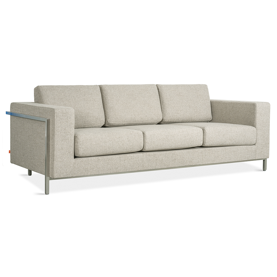 Gus* Modern Davenport Sofa in Leaside Driftwood