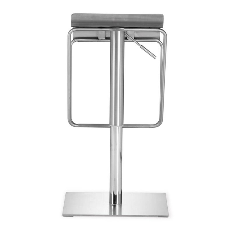 dazzer modern adjustable barstool - back view