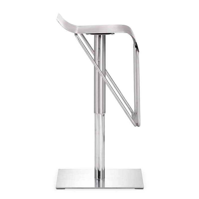 dazzer modern adjustable barstool - side view