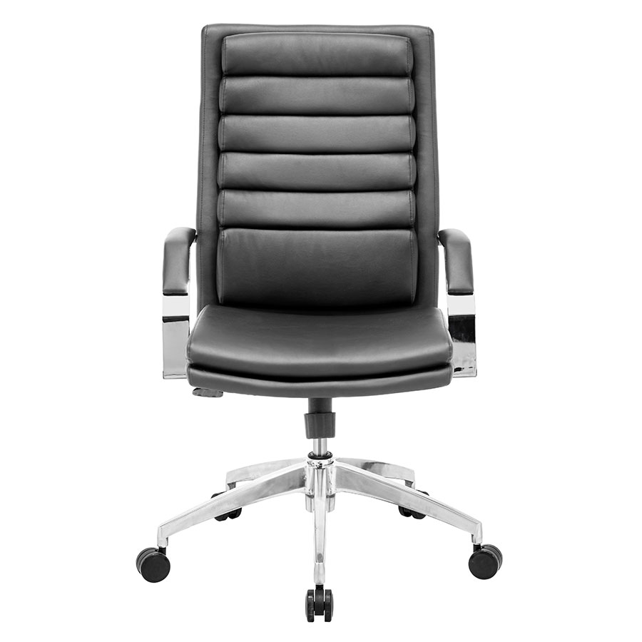 Delta Comfort Black Contemporary Office Chair