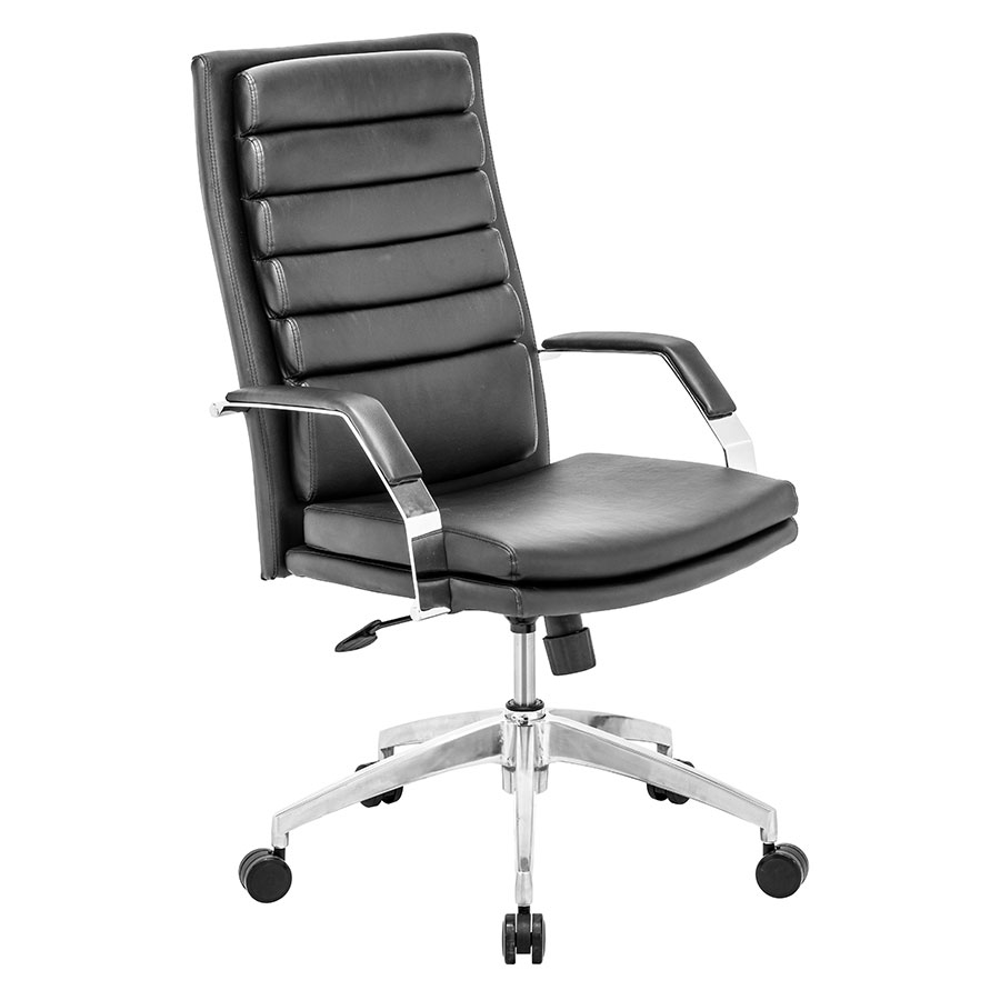Delta Comfort Black Modern Office Chair