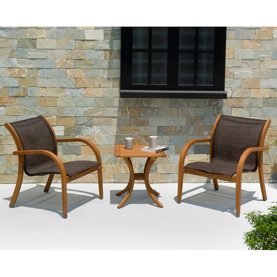 Denver modern outdoor lounge set eurway furniture for Outdoor furniture denver