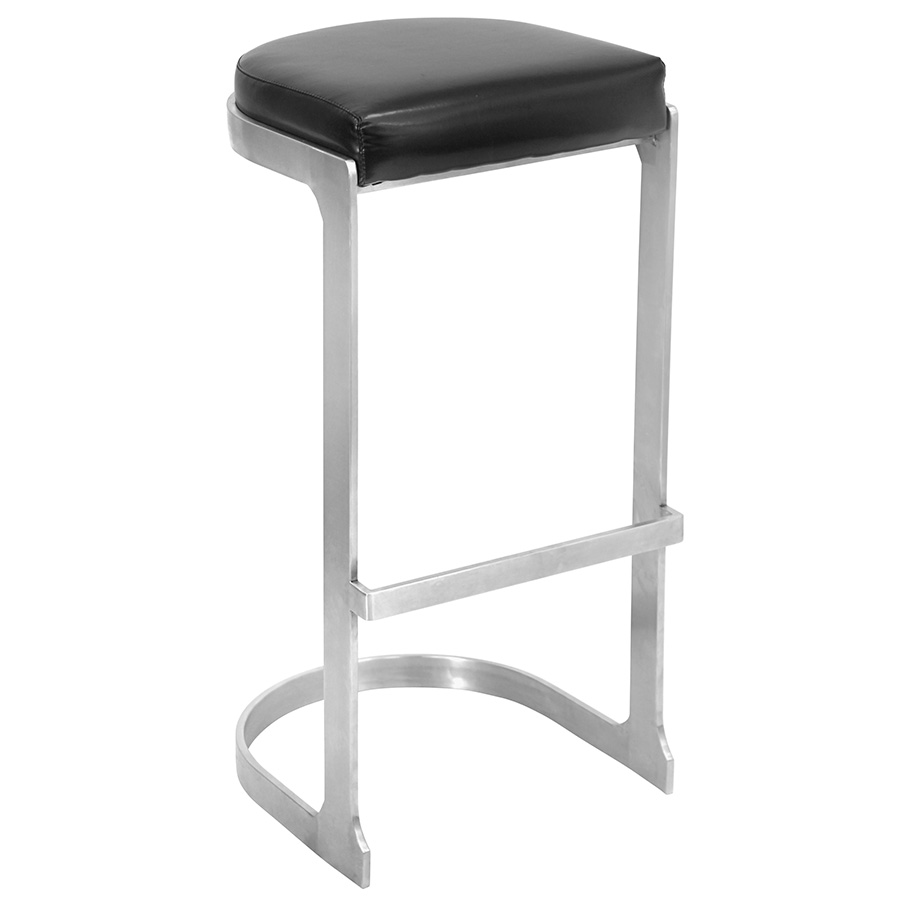 Derrick Modern Black Bar Stool