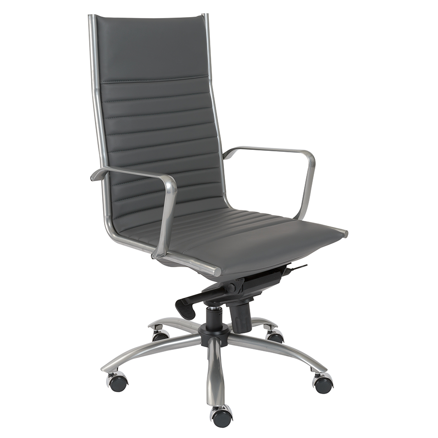 Dirk Gray Modern Executive Office Chair