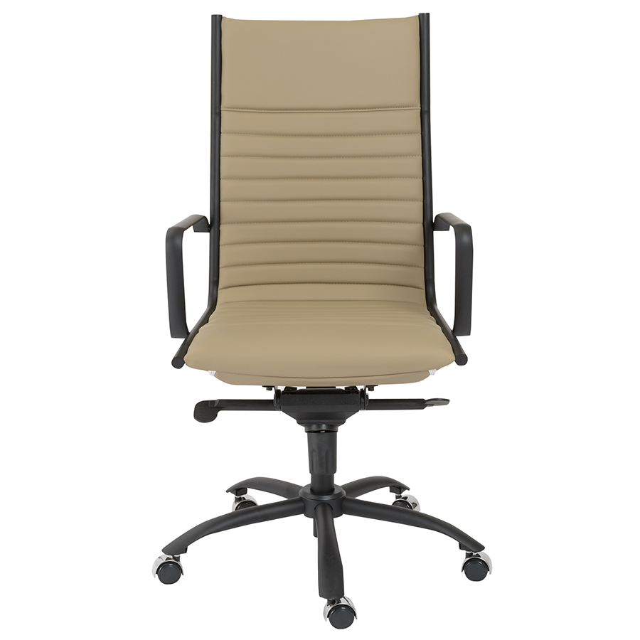 Dirk Taupe Contemporary Executive Office Chair