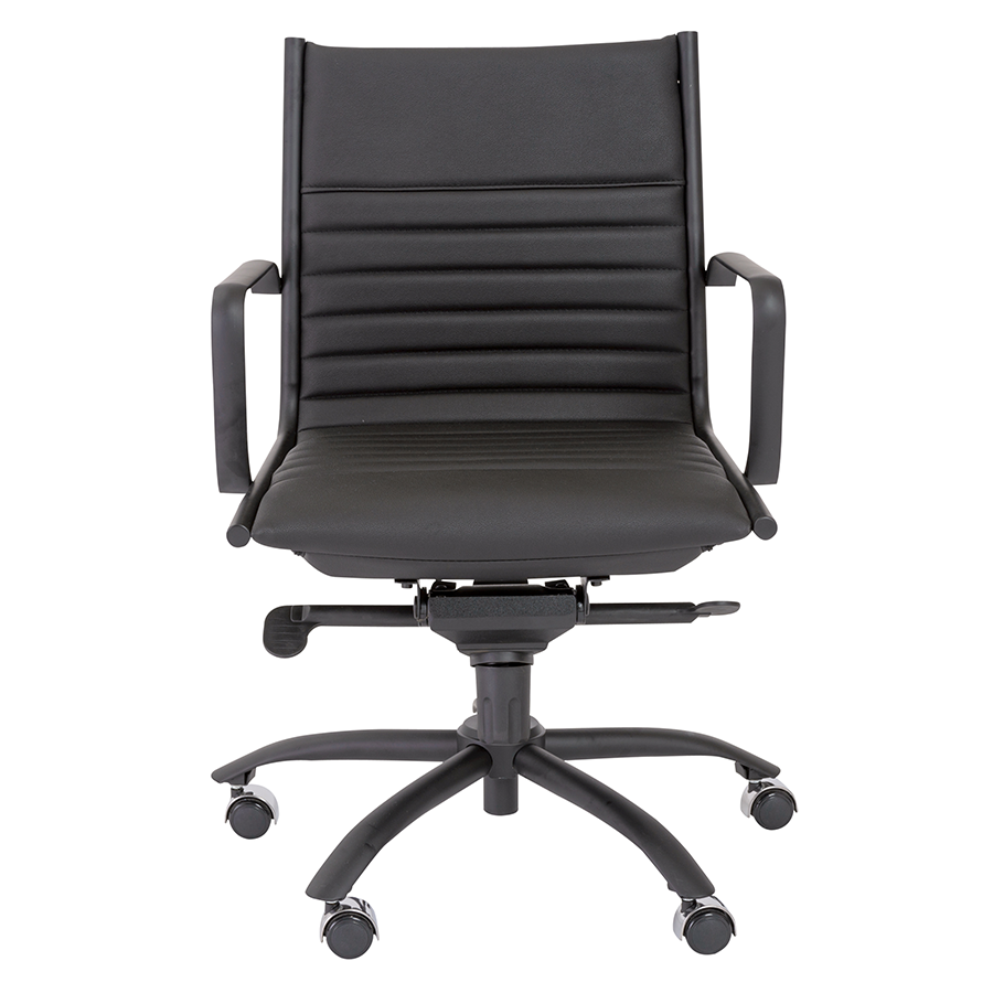Dirk Black Contemporary Office Chair