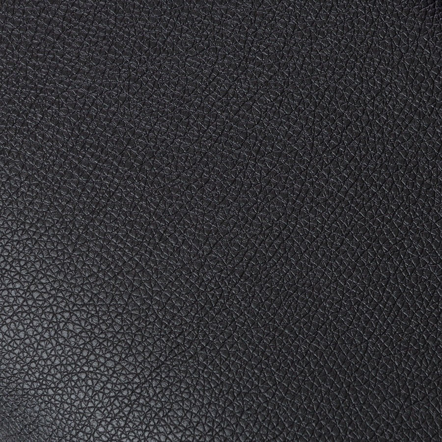 Dirk Black Modern Office Chair Leatherette Detail