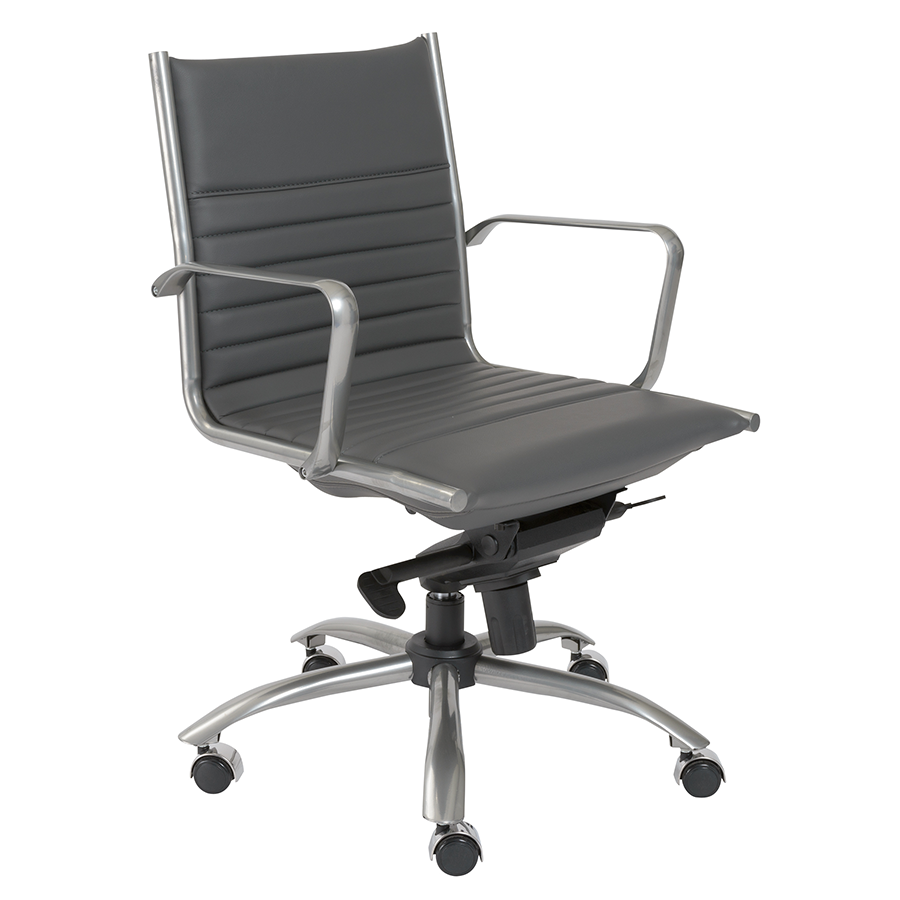 Dirk Gray Modern Office Chair