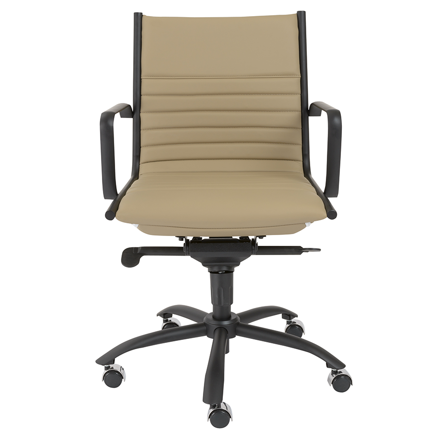 Dirk Taupe Contemporary Office Chair