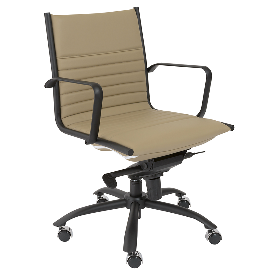 Dirk Taupe Modern Office Chair