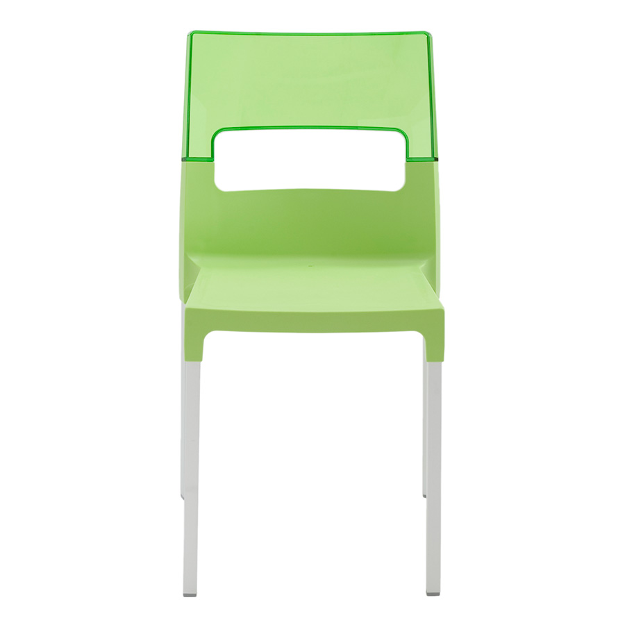 Diva Green Contemporary Side Chair