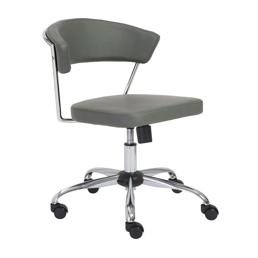 Draca Gray Modern Office Chair
