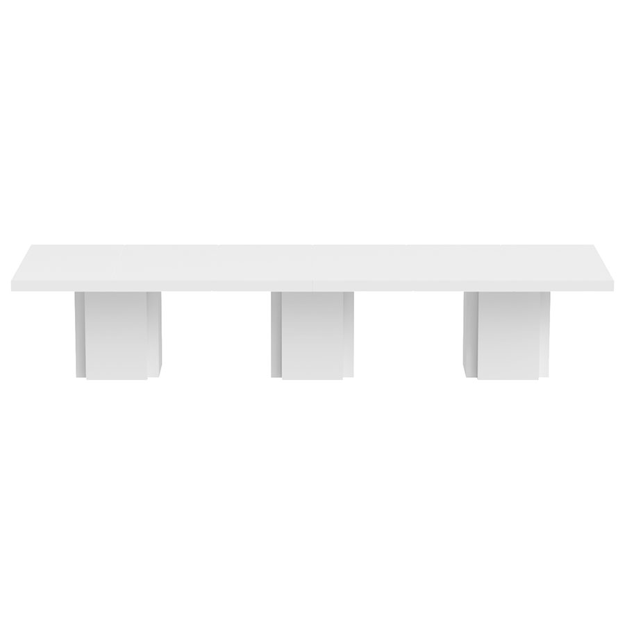 TemaHome Dusk 153quot White Dining Table Eurway : dusk dining table triple white 2 from www.eurway.com size 900 x 900 jpeg 14kB