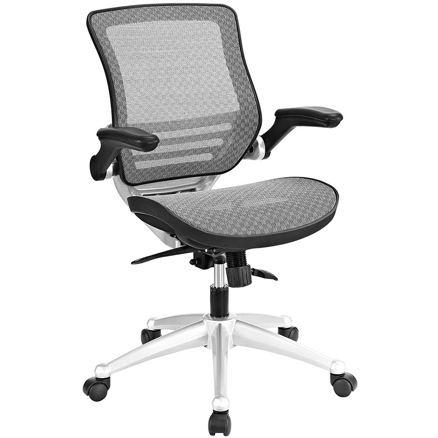 Ede Modern Gray Mesh Office Chair
