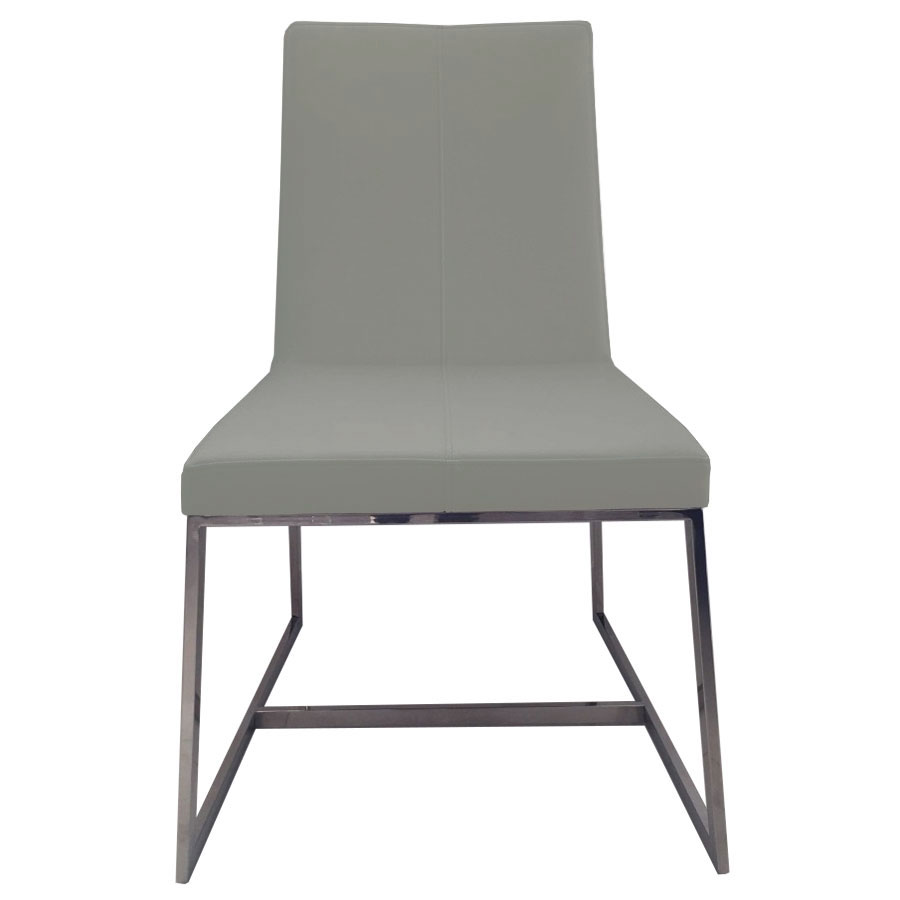 Egbert Taupe Contemporary Dining Chair Front