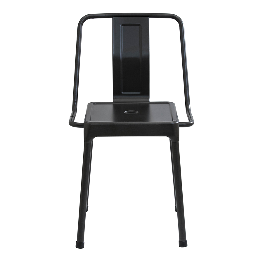 Elian Black Contemporary Side Chair