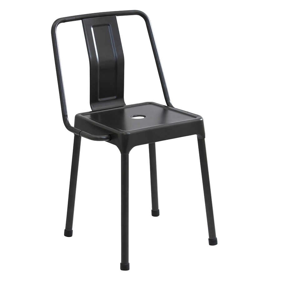 Elian Black Modern Side Chair