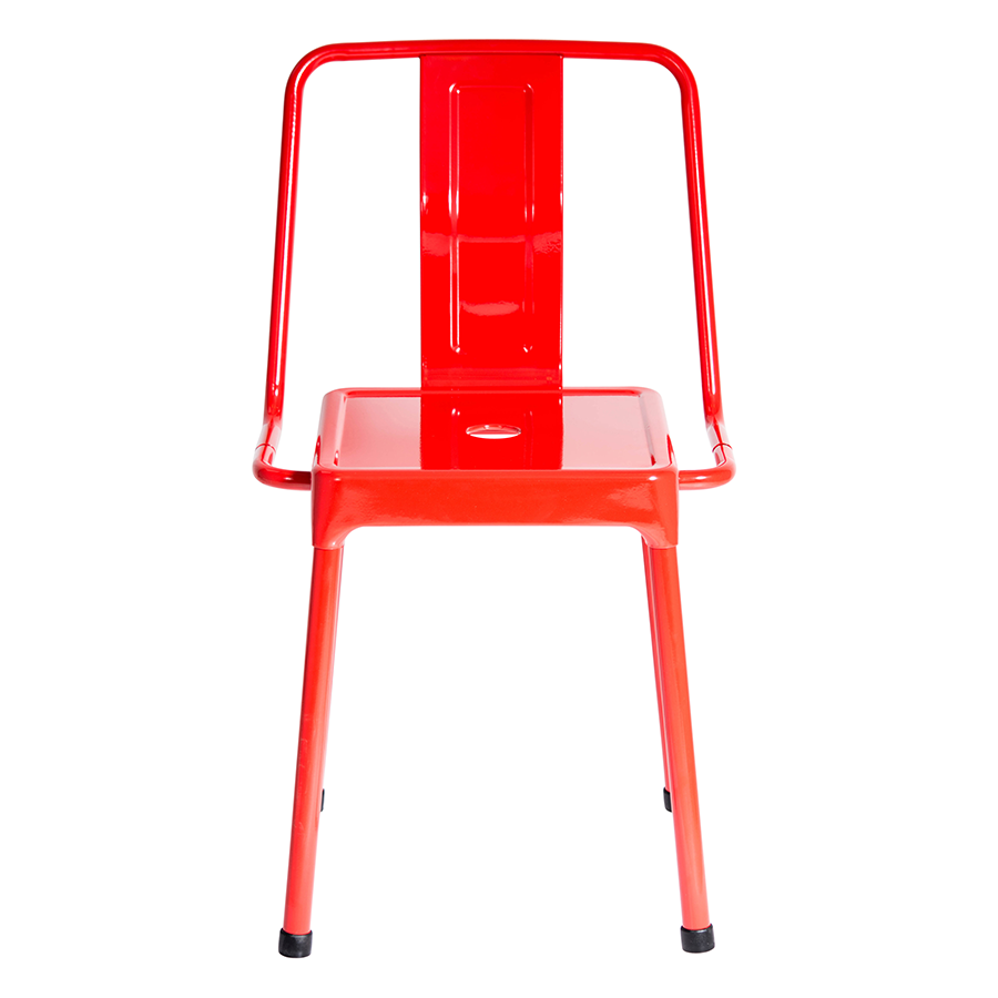 Elian Red Contemporary Side Chair