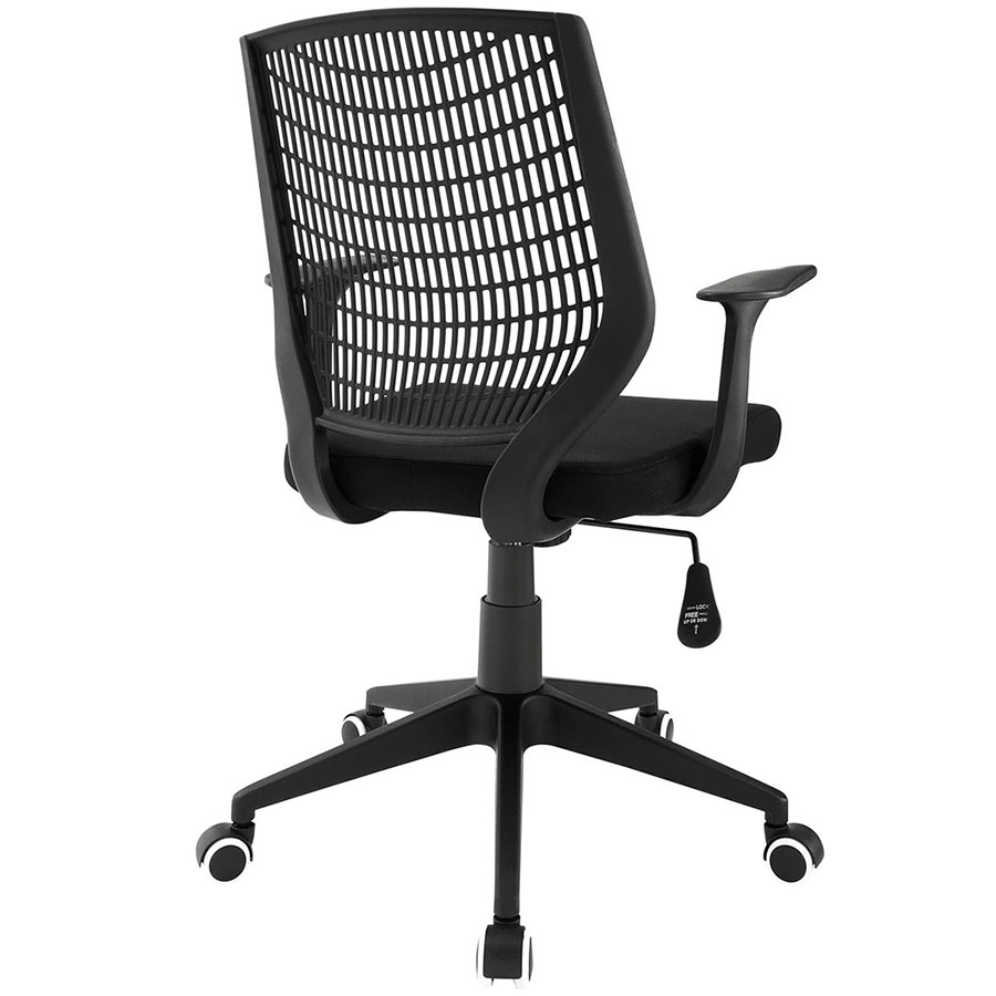 Elmont Modern Office Chair - Back View
