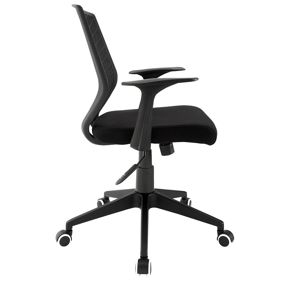 Elmont Modern Office Chair - Side View