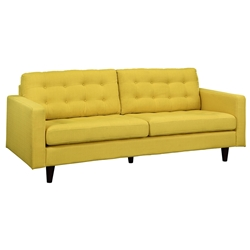 Enfield Modern Yellow Sofa