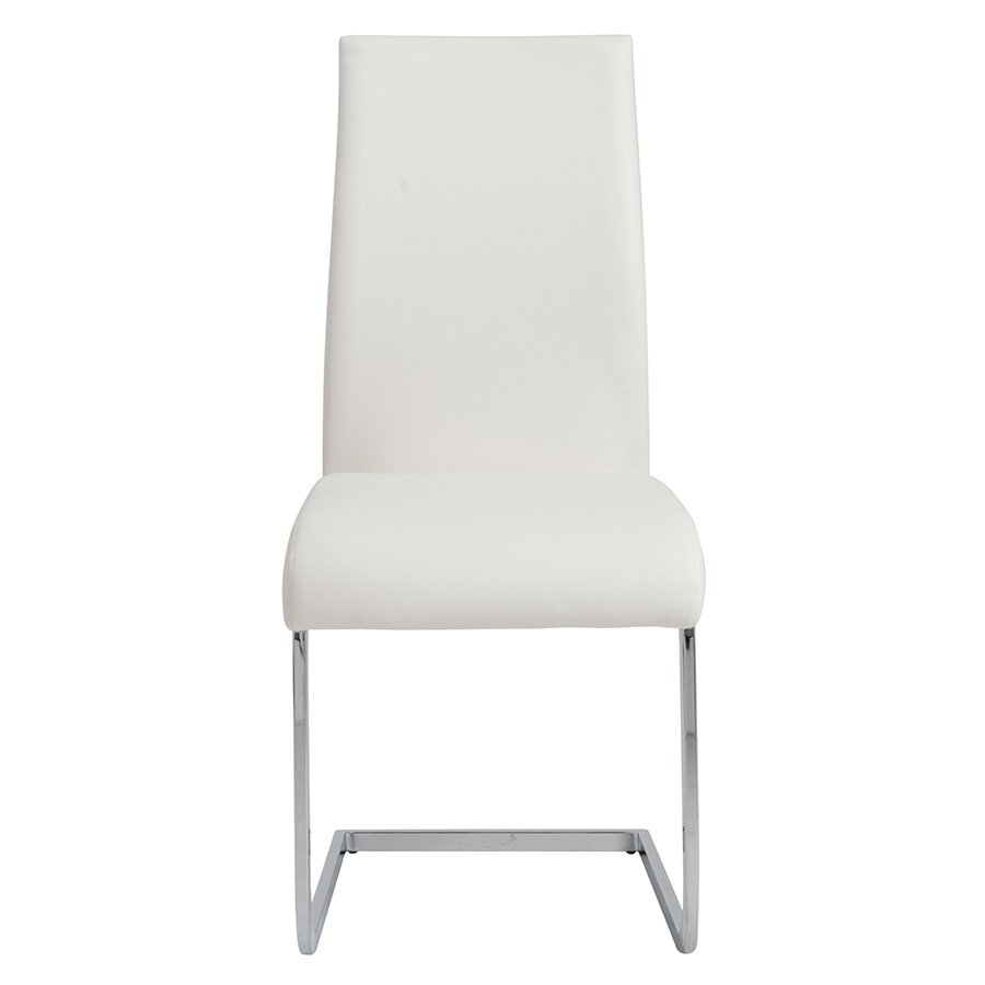 Epifania White Contemporary Side Chair