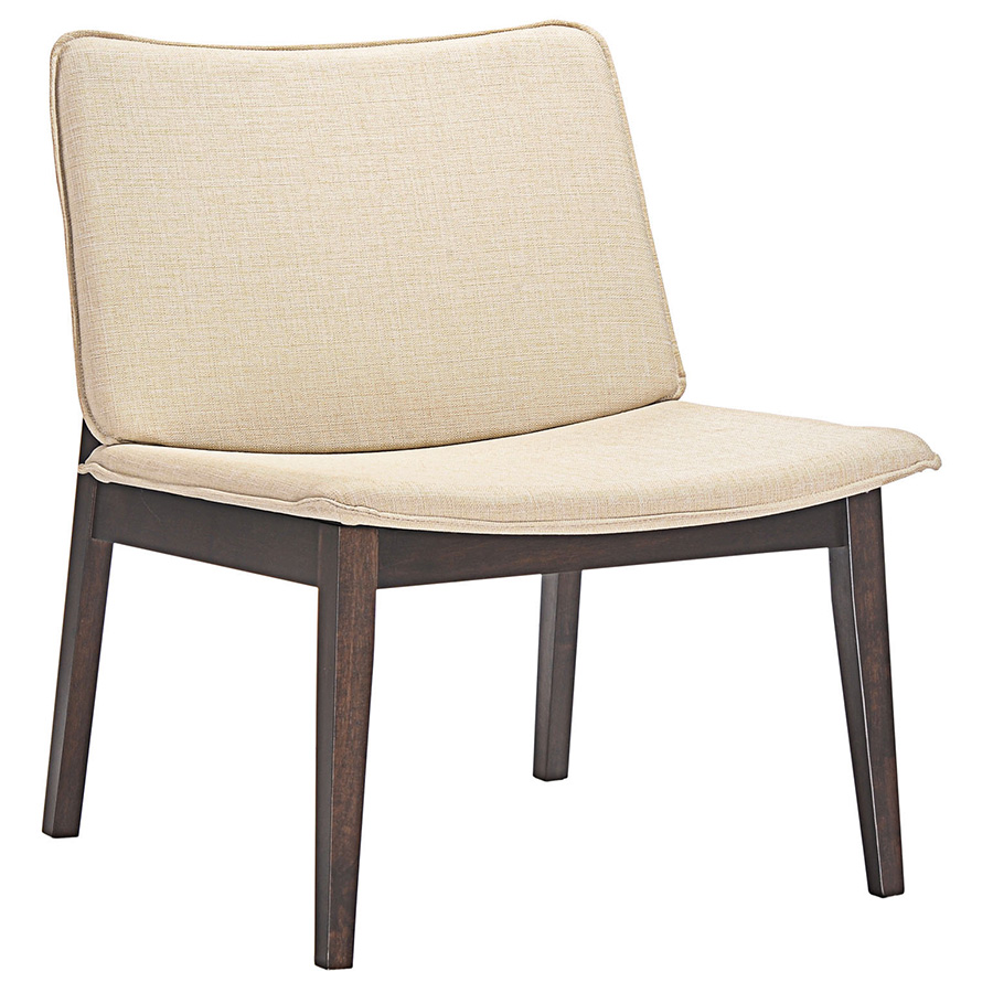 Evolve Beige Lounge Chair