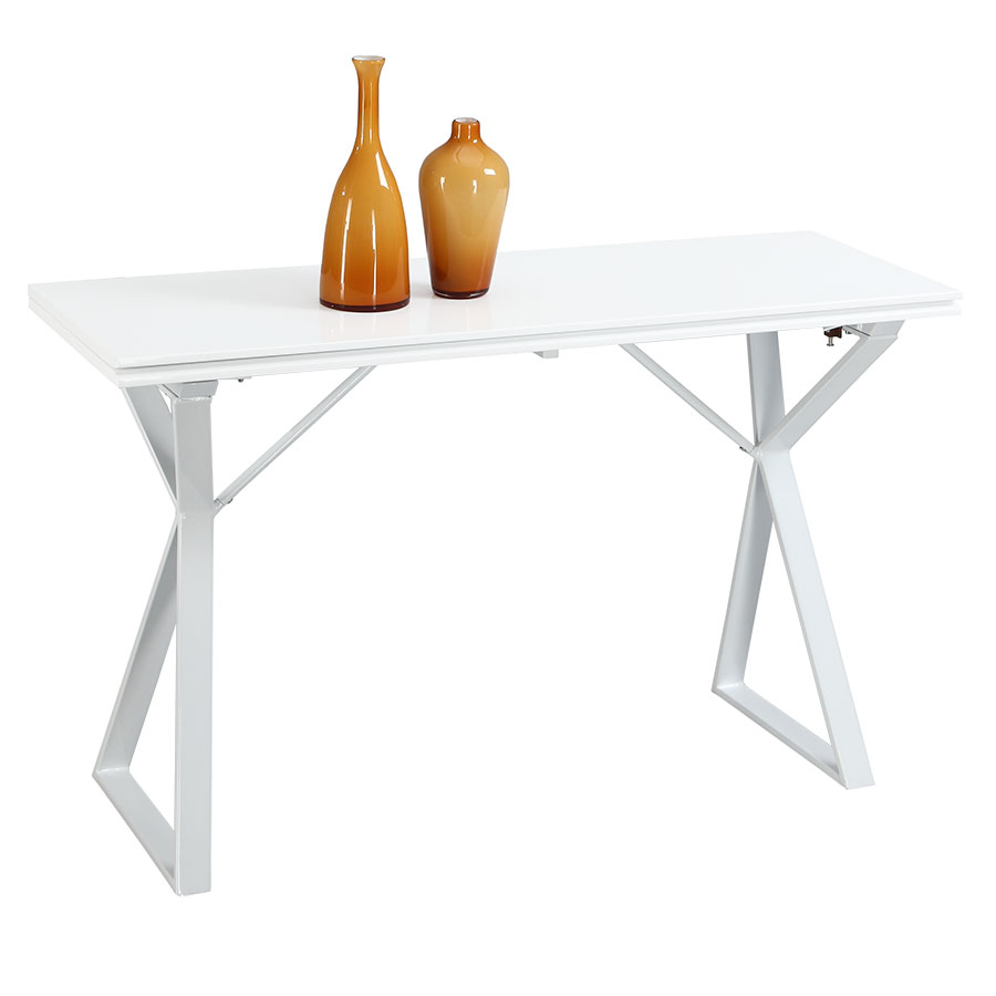 Exodus Modern Convertible Console + Dining Table