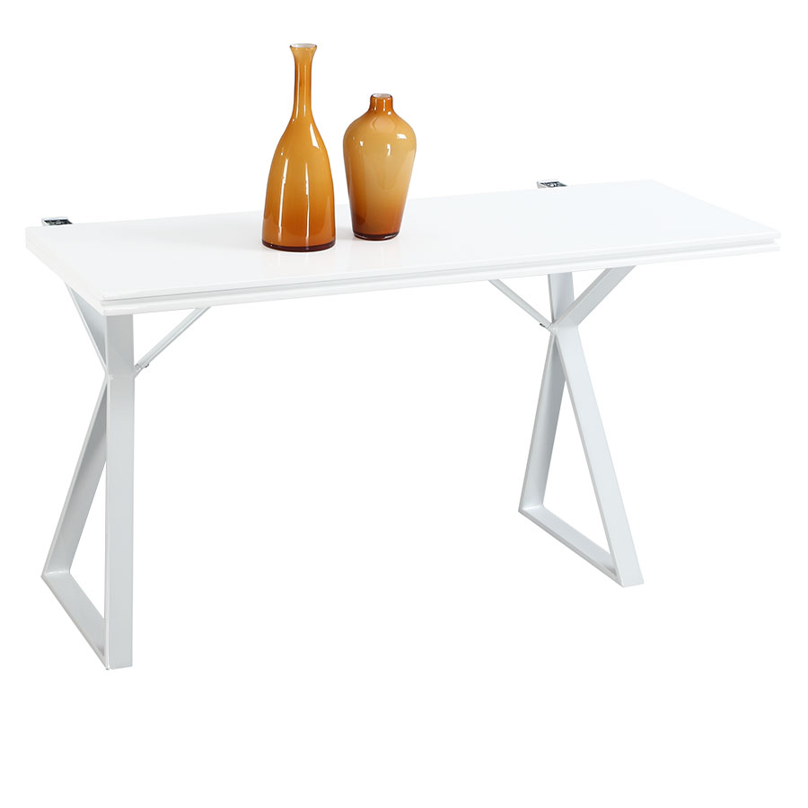 Exodus Modern Convertible Console and Dining Table