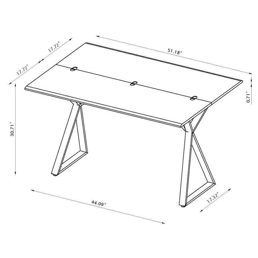 Exodus Modern Console + Dining Table - Drawing