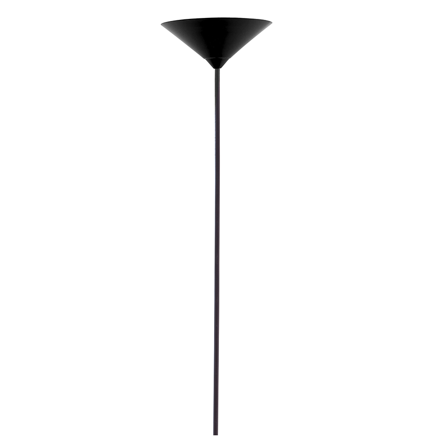 Fallon Black Contemporary Ceiling Lamp