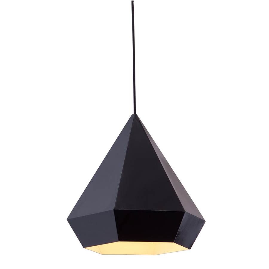 Fallon Black Modern Ceiling Lamp