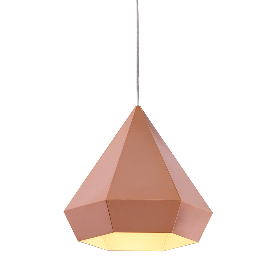 Fallon Gold Modern Ceiling Lamp