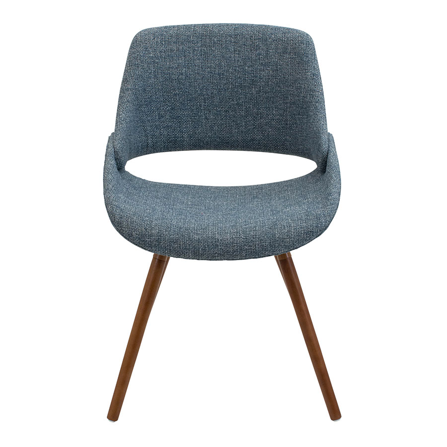 Finley Blue Contemporary Side Chair