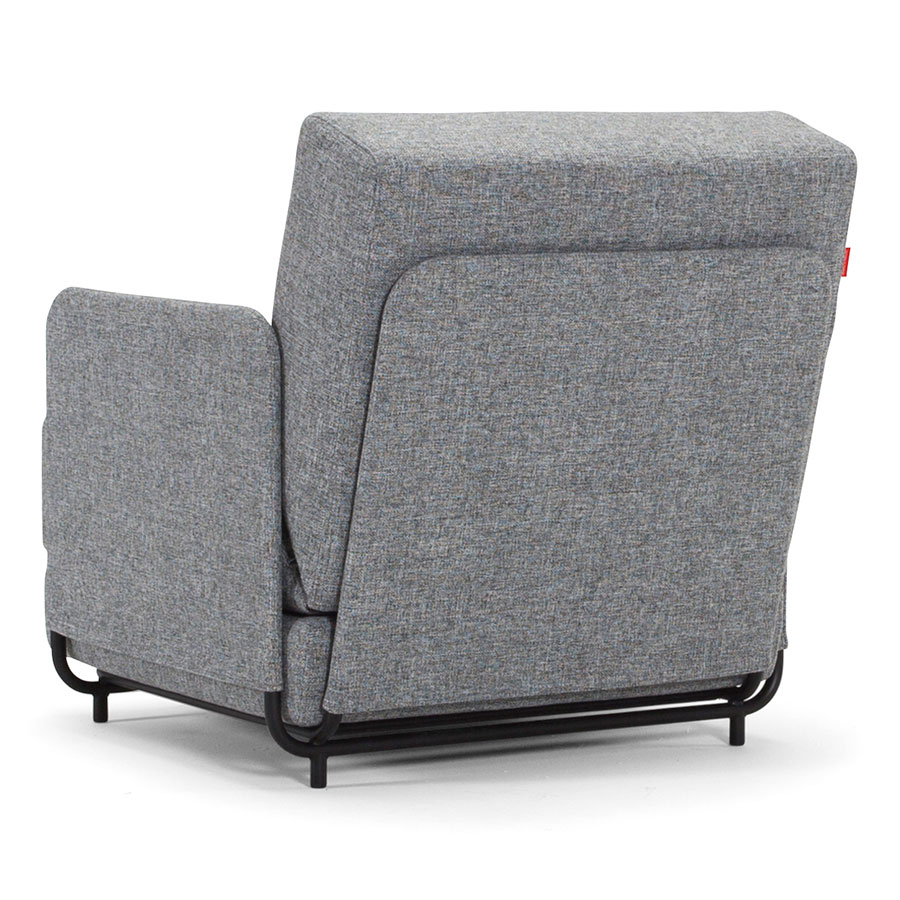 Fluxe Modern Sleeper Chair - Back View