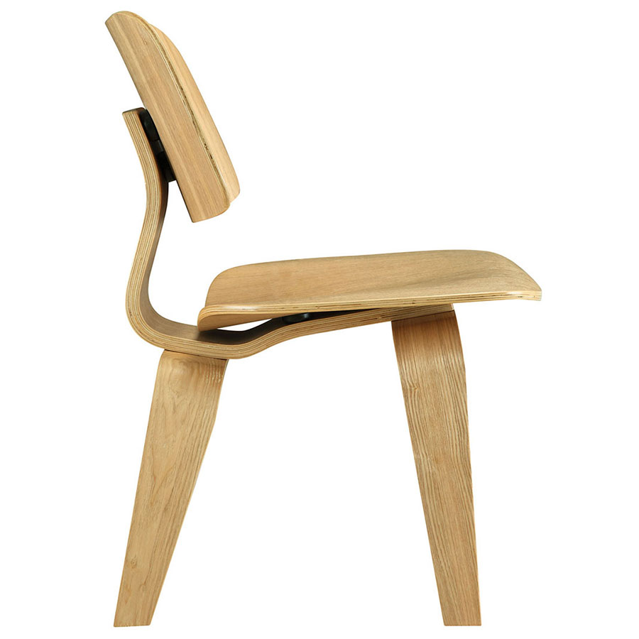 Plywood Natural Contemporary Dining Chair