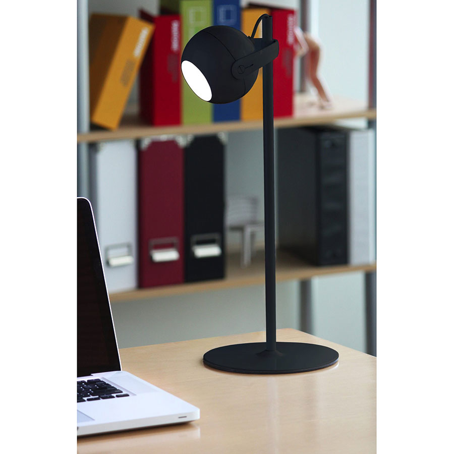 Foster Modern Black LED Desk Lamp
