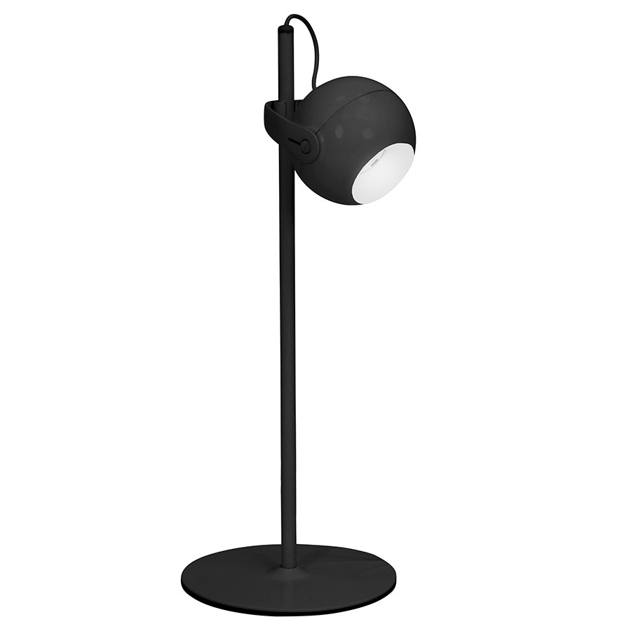 Foster Black Modern Table + Desk Lamp