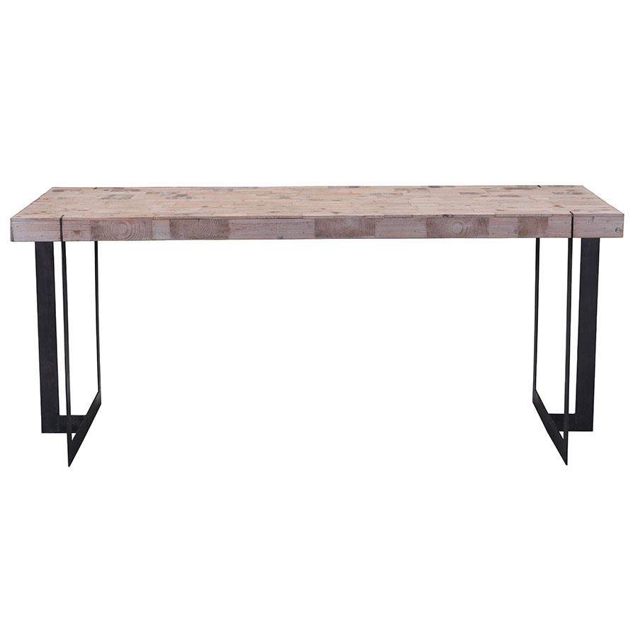 Frankfurt Modern Dining Table - Front View