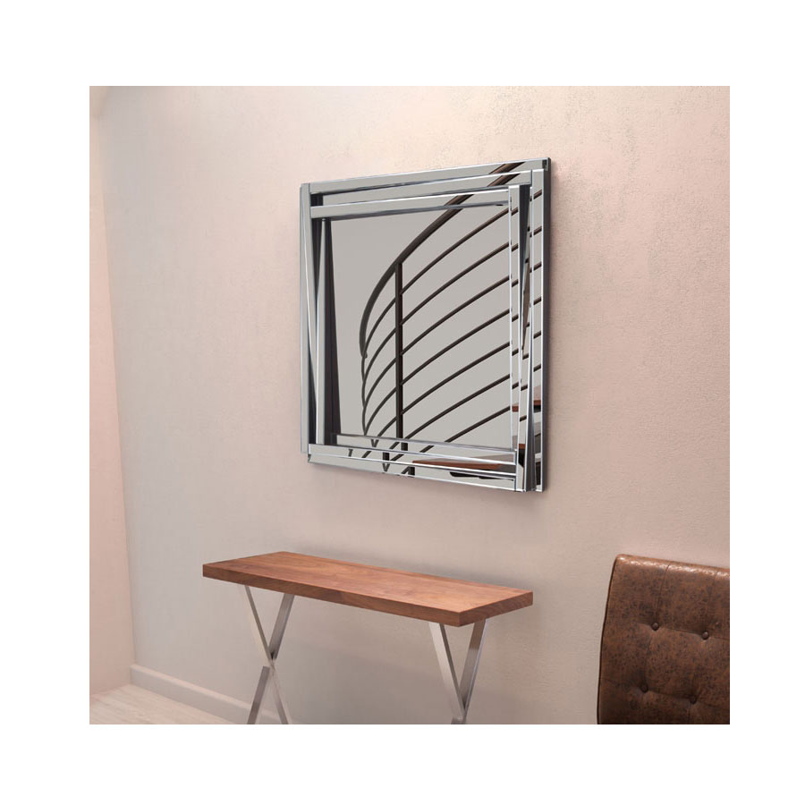 Fray Square Modern Mirror
