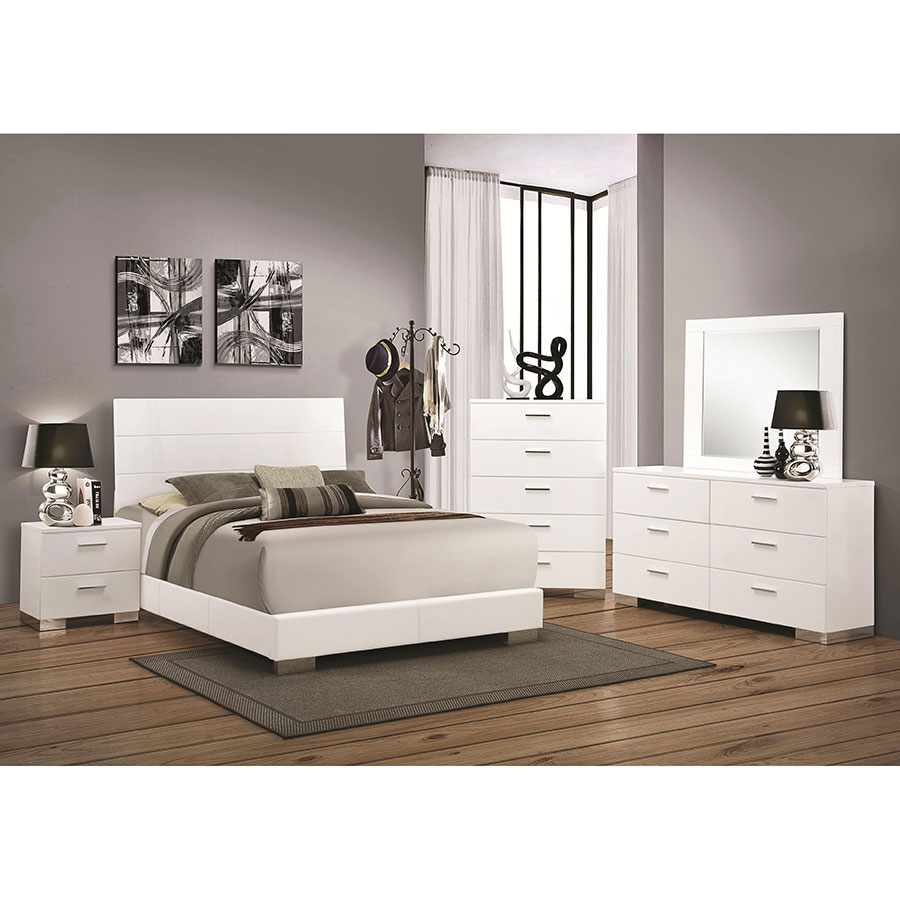 Fredrika Modern Bedroom Collection