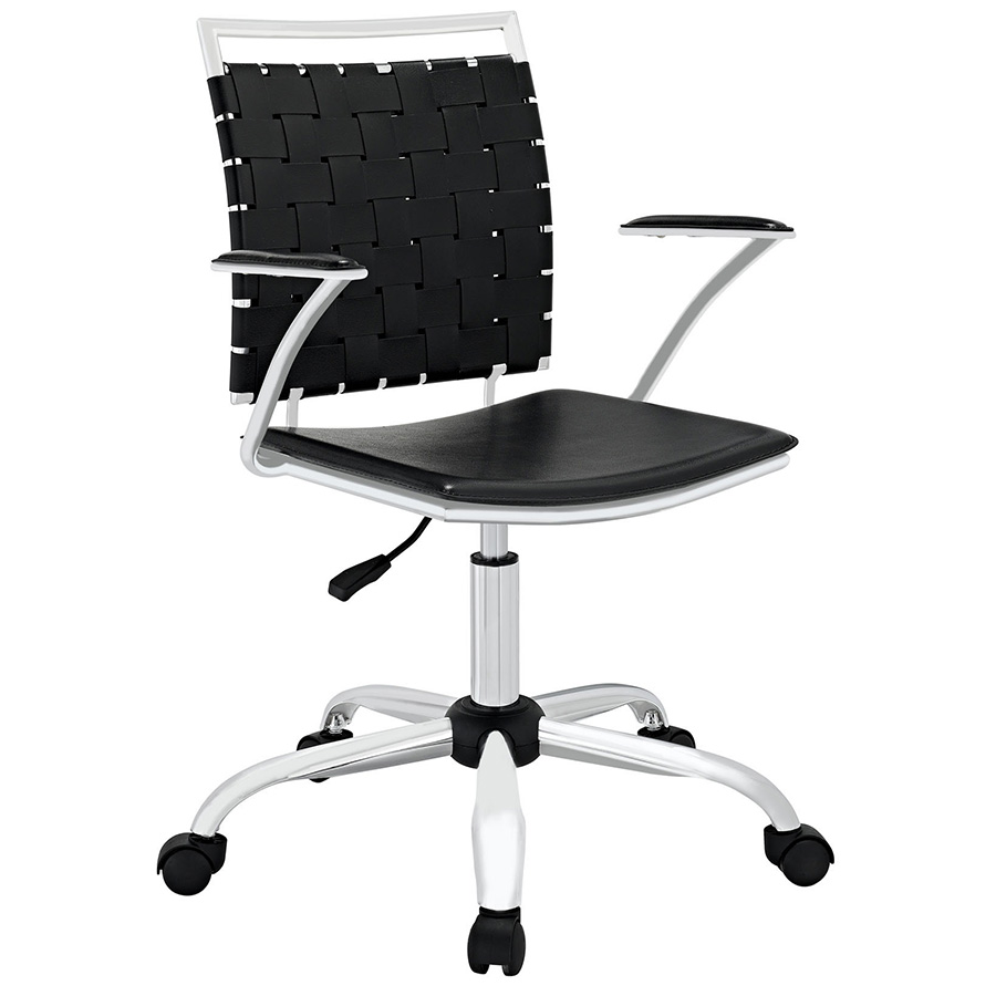 Fusion Modern Black Office Chair