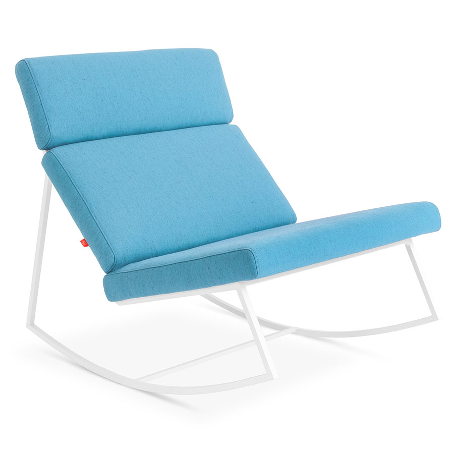 GT Rocker Contemporary Lounge Chair in Muskoka Surf