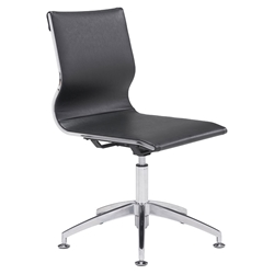 Gamila Black Modern Conference Chair