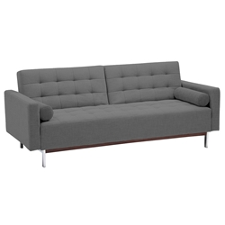 Garrett Modern Gray Sleeper Sofa