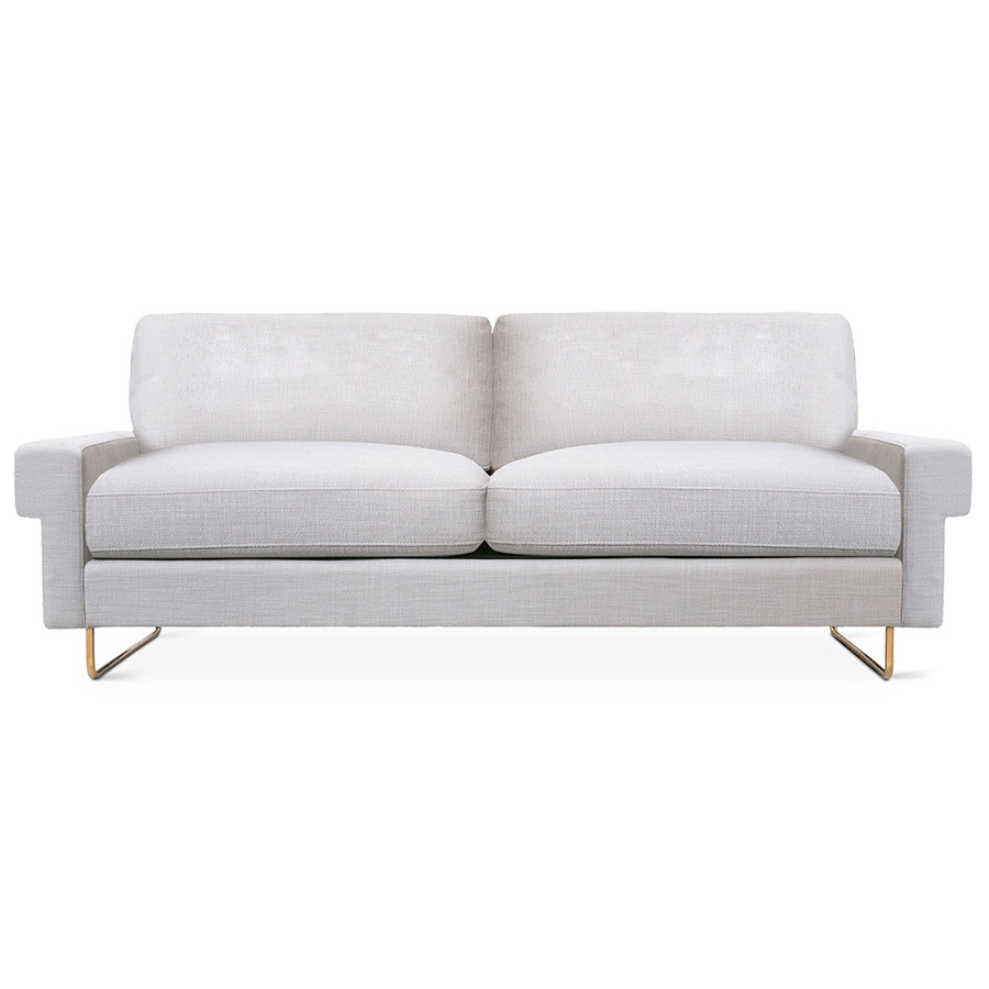 Gus Modern Garrison Sofa in Oxford Quartz