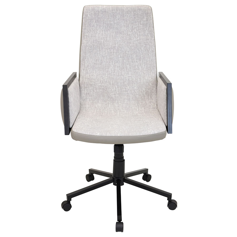 Genesis Tan Modern Office Chair - Front View