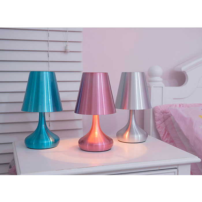 Gerrard Modern Metal Touch Table Lamps